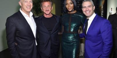 Leonardo DiCaprio, Sean Penn Help Raise Money for Haiti