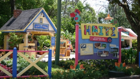 Fun Fact: Did You Know There Once Was A Haiti Garden Exhibit At Disney's Epcot Center?