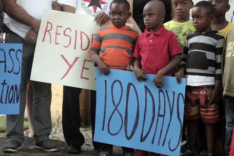 Haitian advocates start 180-day countdown urging Trump administration to extend TPS