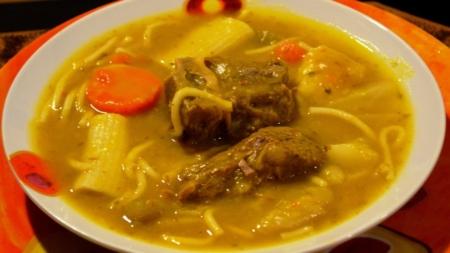 Soup Joumou (Butternut Squash Soup)