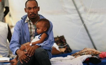 The fight against fatal childhood diseases in Haiti gets a boost