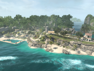 DID YOU KNOW: THAT ÎLE DE LA TORTUE IS ALSO FEATURED IN THE ASSASSIN'S CREED VIDEO GAME SERIES?