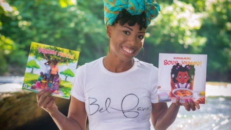 Carline Smothers creates Zoe Beautee and the Little Reader's Collection