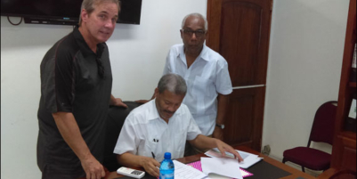 Partners sign agreement for first optometry school in Haiti