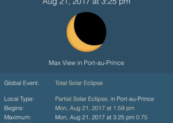 Solar eclipse, Government mobilized