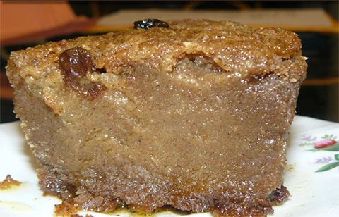 Pen Patat (Sweet Potato Pudding)