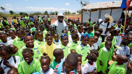 Behind-The-Scenes Footage From Cliff Avril's Humanitarian Trip To Haiti