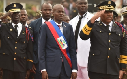 The Financing of the new Haitian Parliament