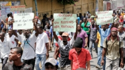 Marchers Demand Haiti's President Step Down
