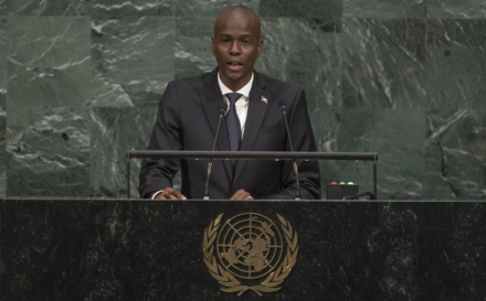 Haitian President Backs Paris Climate Accord, Calls On UN To Honor Commitments On Tackling Cholera