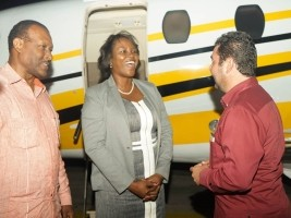 Haiti – Social : The First Lady of Haiti in Belize