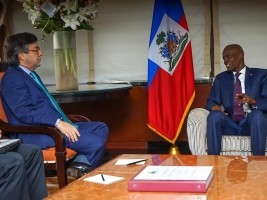 Positive Meeting Between Moïse And The IDB