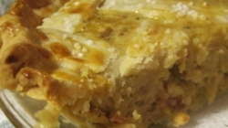 Tarte a l' oignon (Onion pie)