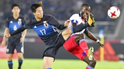 Kagawa scores late goal as Japan draws 3-3 with Haiti