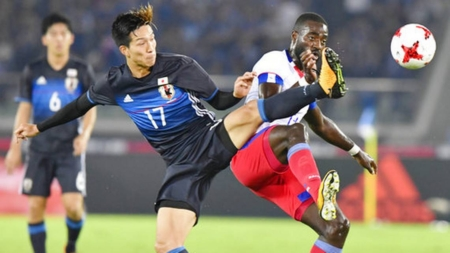 Kagawa scores late goal as Japan draws 3-3 with Haiti