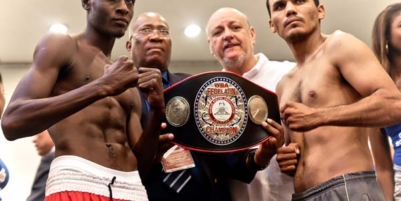 Fighters Make Weight for Gala in Haiti