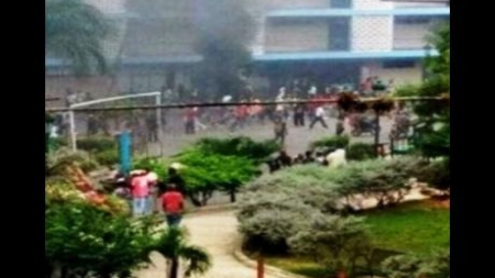 Police Use Teargas as Demonstrations Continue Against Budget Proposals in Haiti
