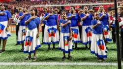 Haitian Orphan Choir leads national anthem at Atlanta United match