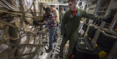Air Force Reservists Deliver Humanitarian Aid to Haiti
