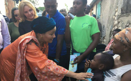 UN 'Will Walk With Haiti' On Path Towards Sustainable Development, Senior Official Pledges