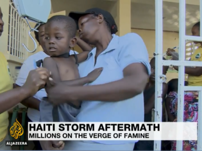 Millions at risk of famine in post-hurricane Haiti