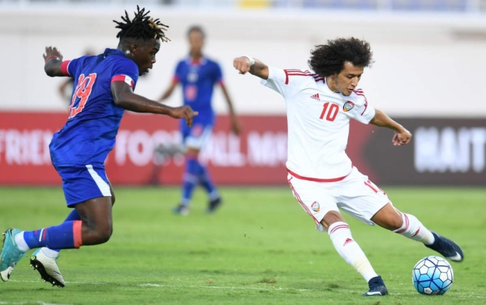 UAE go down fighting against Haiti