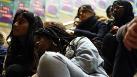 Haitian American Students Association Holds Sit-In After Trump Administration's TPS Decision