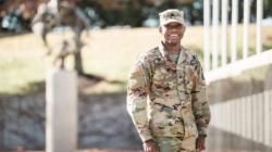 Commissioning ceremony a major milestone for student from Haiti