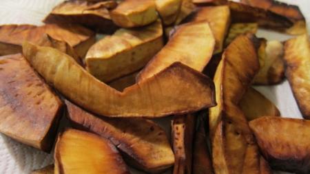 Veritab Fri (Fried Breadfruit)