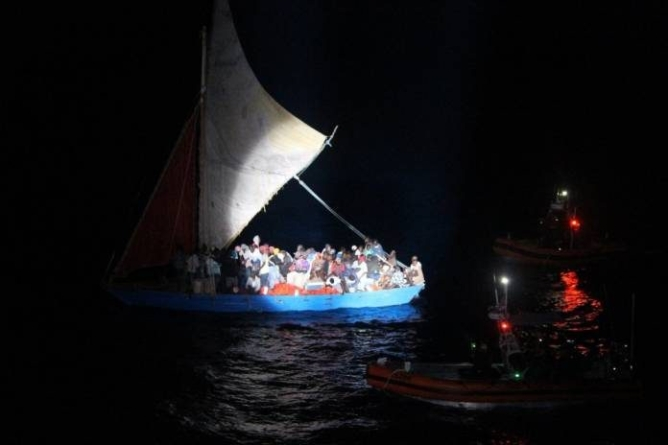 US Coast Guard Stops Haitian Migrant Boat With Cuban Help