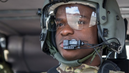 Haitian earthquake survivor, aviator takes Army career to new heights